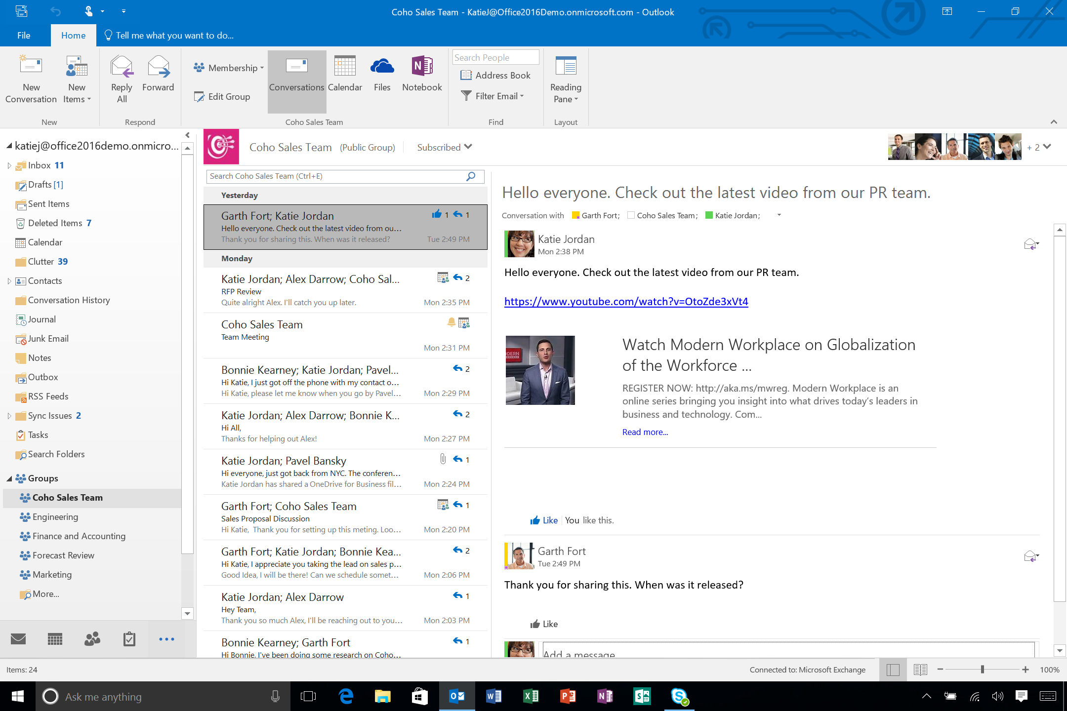Office 2016: Microsoft Outlook