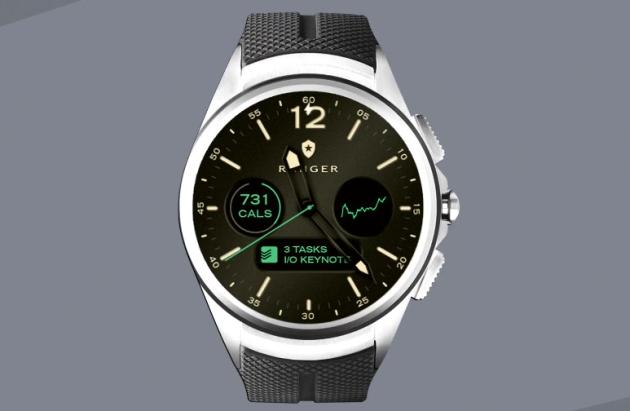 Android Wear 2.0 tarcza