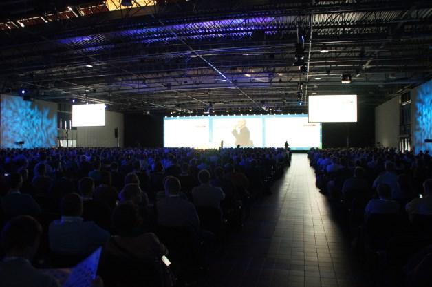 Na sesję plenarną MTS 2013 przybyło blisko 3000 osób. [autor: Marcin Bieńkowski]