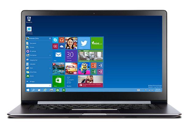 Windows 10 - laptop