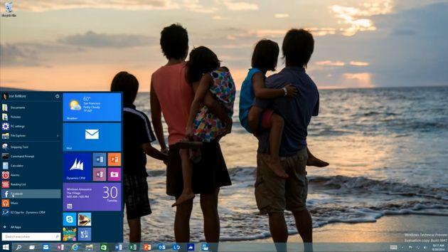 Microsoft Windows 10 - pulpit