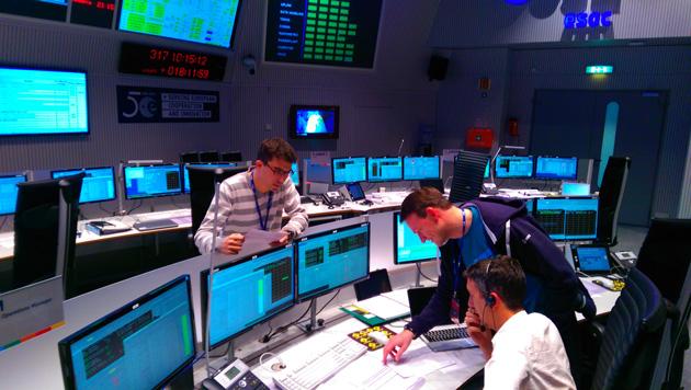 Centrum kontroli lotów ESA