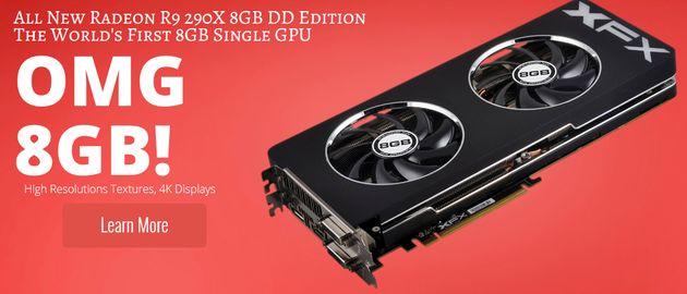 XFX Radeon R9 290X 8GB: karta z chłodzeniem Double