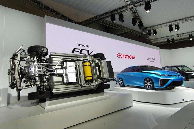 Toyota Mirai system