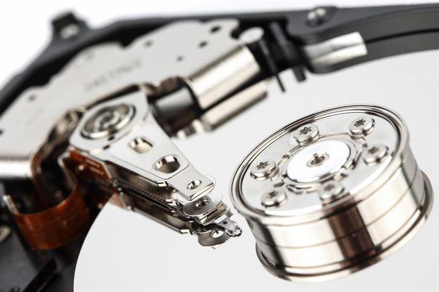 Dysk twardy HDD - talerz magnetyczny