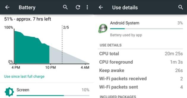 Android akumulator