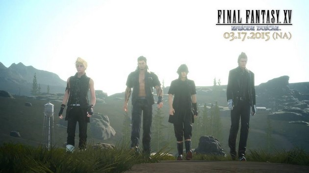 Final Fantasy XV demo