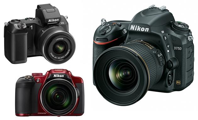 Nikon 1 V2 Coolpix P610 D750