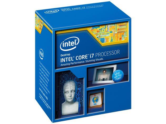 Intel Core i7 procesor opakowanie