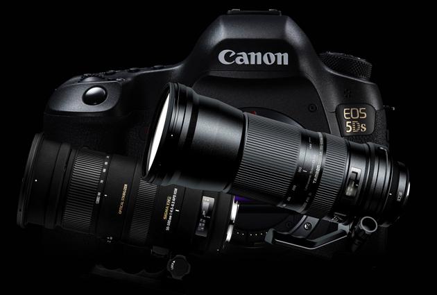 Canon EOS 5DS obiektywy Tamron Sigma