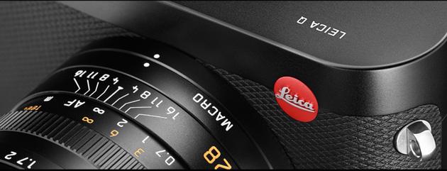 Leica Q zbliżenie