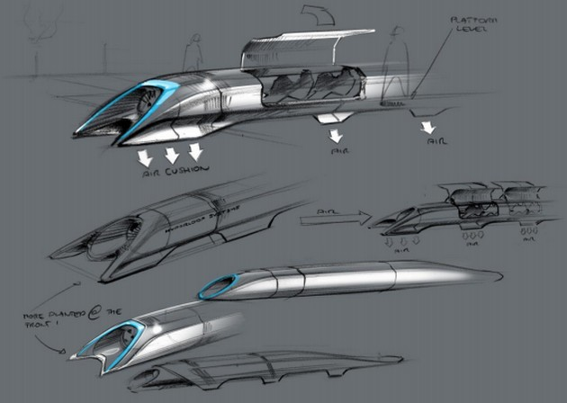 Hyperloop projekt