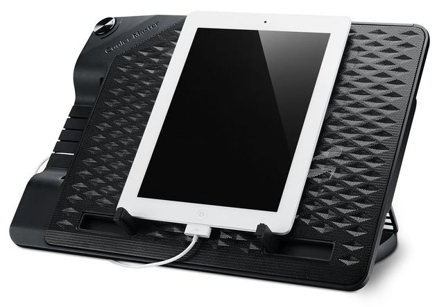 Cooler Master ErgoStand III podkładka chłodząca laptopa