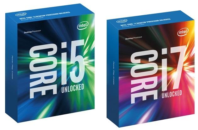 Intel Skylake Core i5 i Core i7 procesory