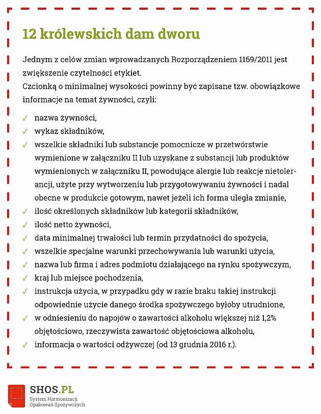 12 zasad wysokości czcionki