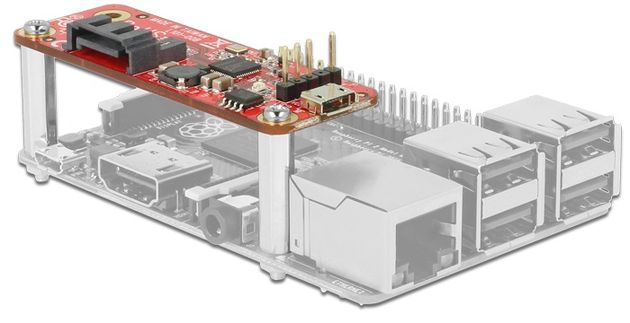 DeLock adapter dla Rasberry Pi SATA micro-USB
