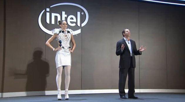 Intel Edison - sukienka