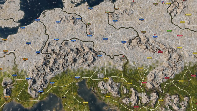 Grand Ages: Medieval mapa