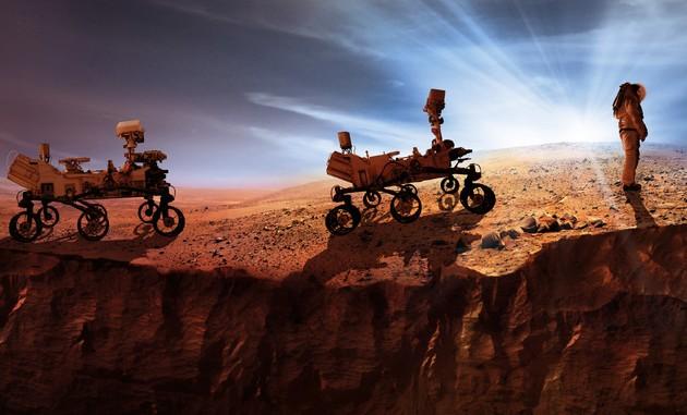 NASA Mars człowiek