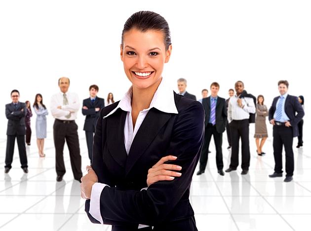 Kobieta w firmie