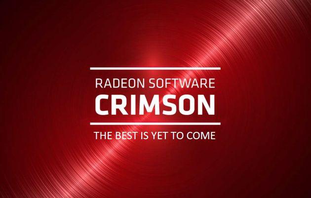 AMD Radeon Softoware Crimson Edition