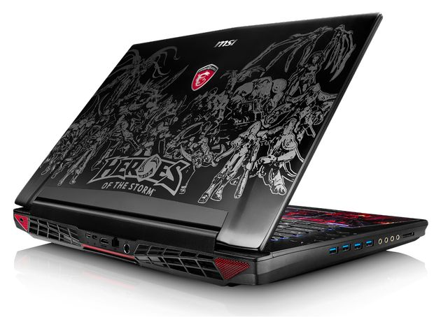MSI GT72 Heroes of the Storm laptop