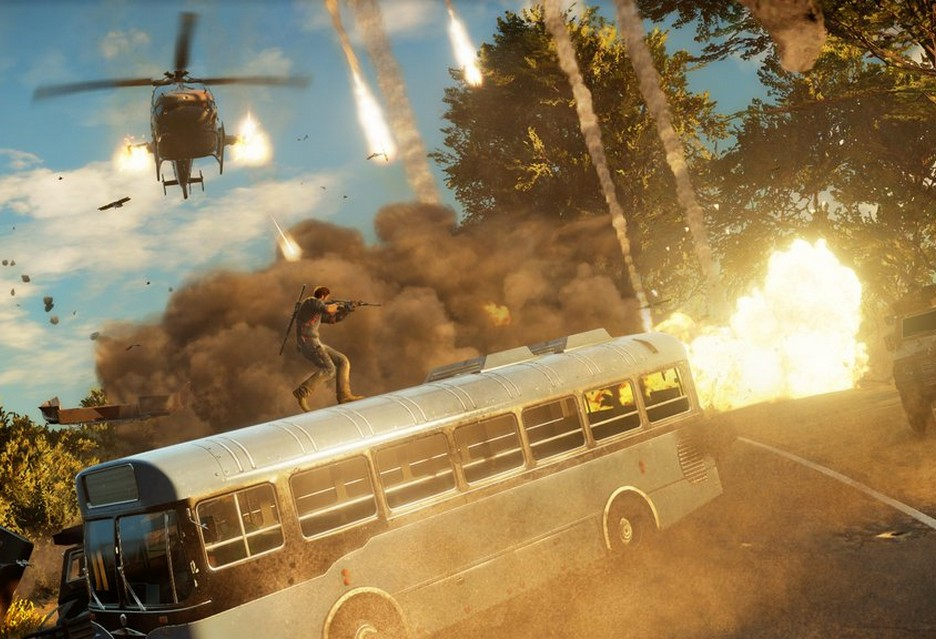 Just Cause 3 bus