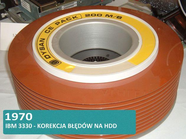Historia dysków twardych HDD i SSD - IBM 3330