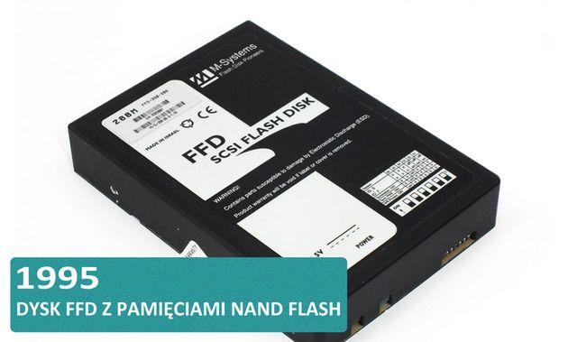 Historia dysków twardych HDD i SSD - M-Systems dysk FFD