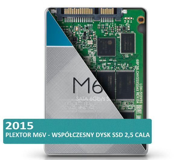 Historia dysków twardych HDD i SSD - Plextor M6V dysk SSD