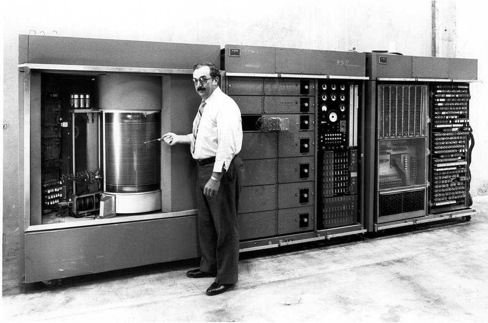 IBM 350 REMAC dysk