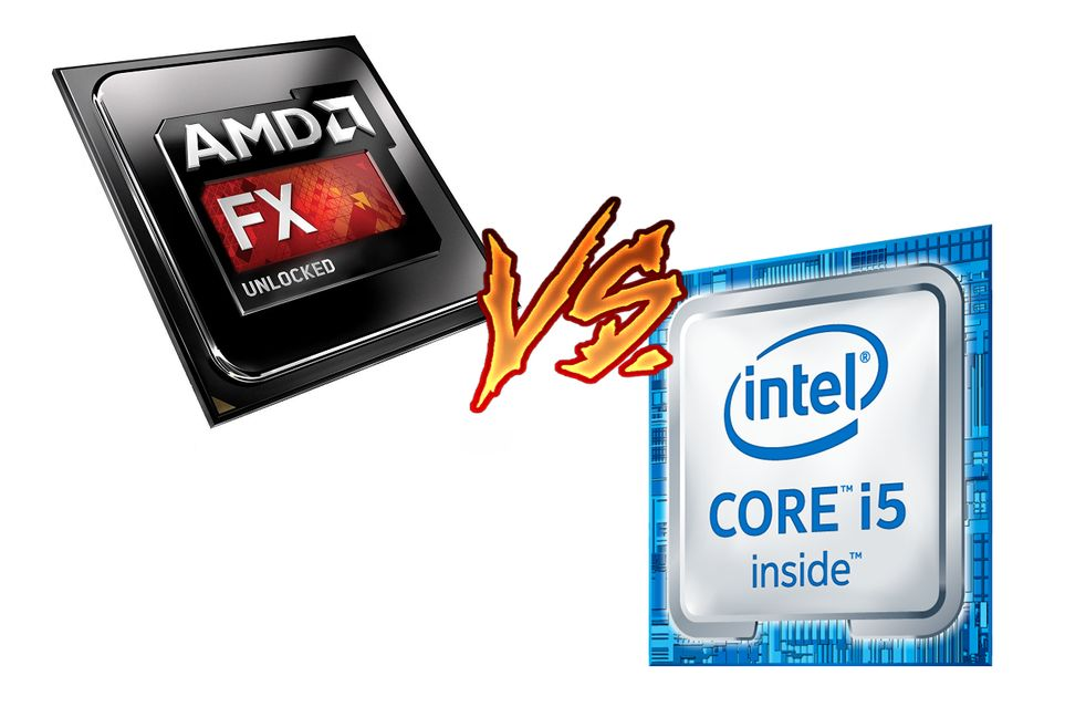AMD FX vs Intel Core i5 procesor