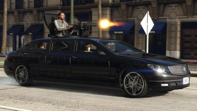 GTA Online Szefowie auto