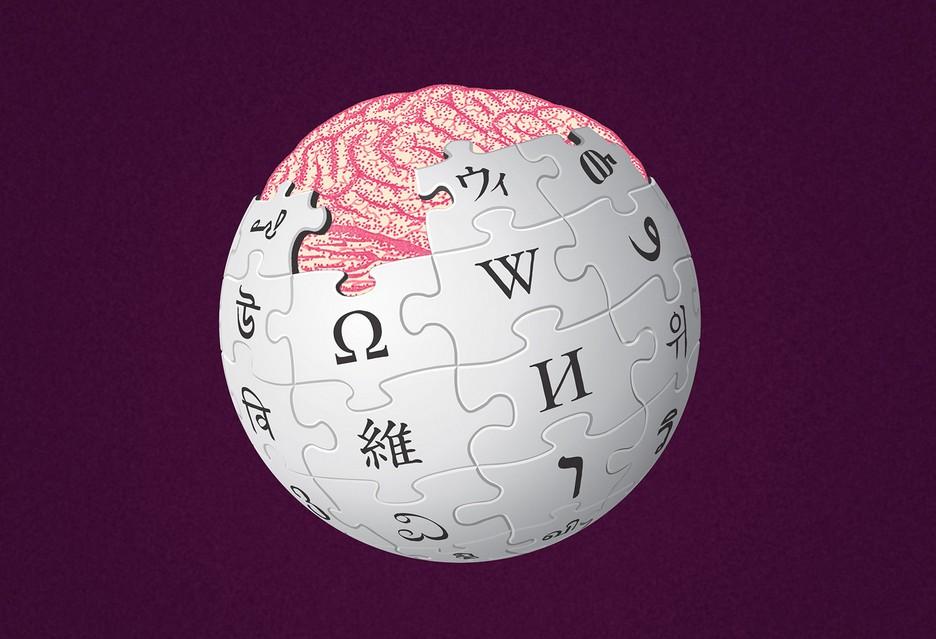 Wikipedia mózg
