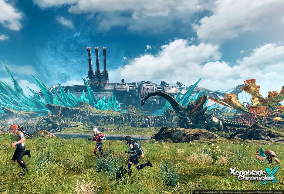 Xenoblade Chronicles X screen
