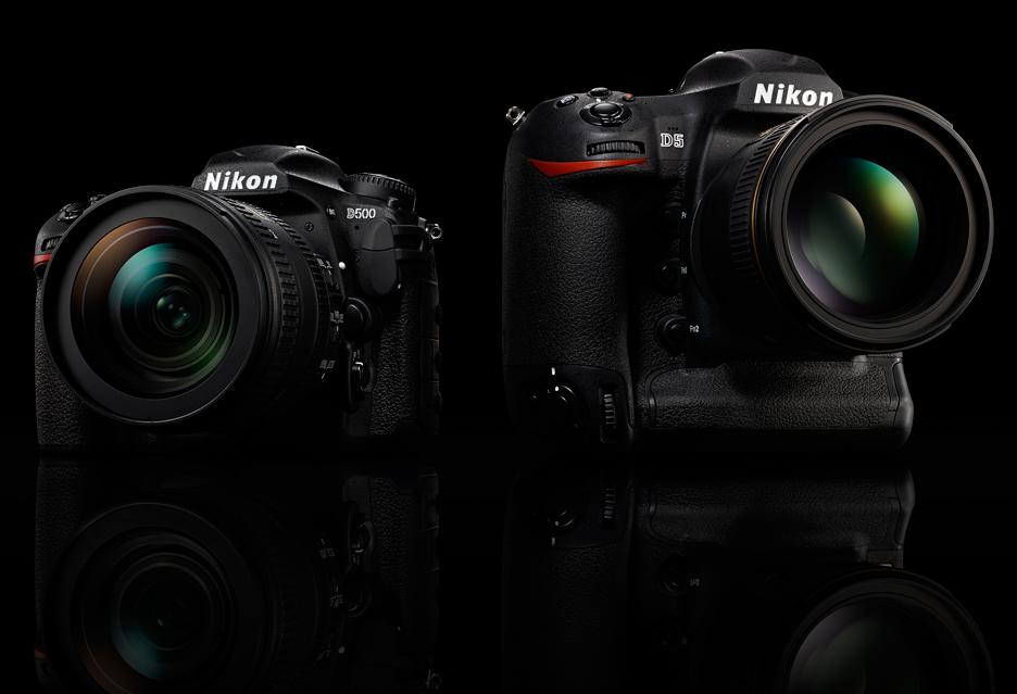 Nikon D500 i D5
