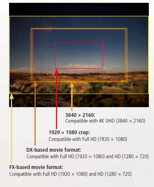 Nikon D5 kadry wideo
