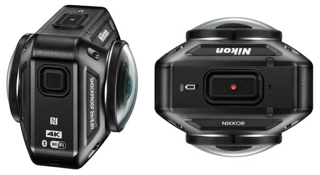 Nikon KeyMission 360 widok bok