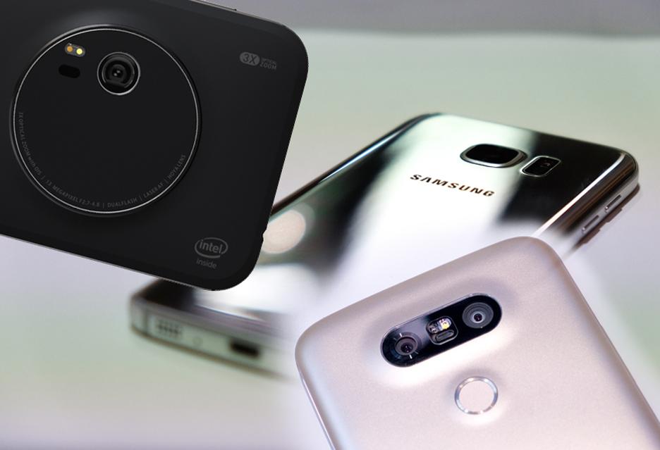 ASUS Samsung LG aparaty