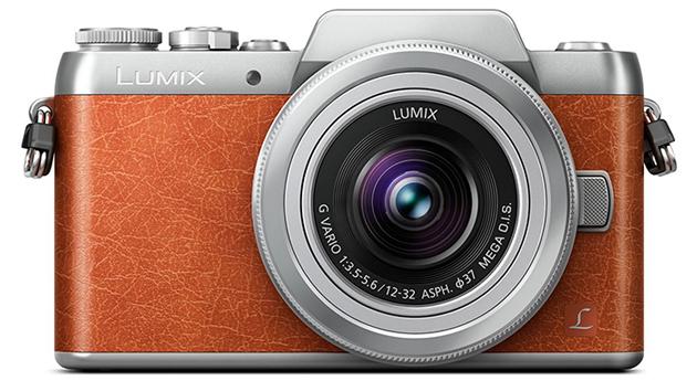 Panasonic Lumix GF8 widok przód