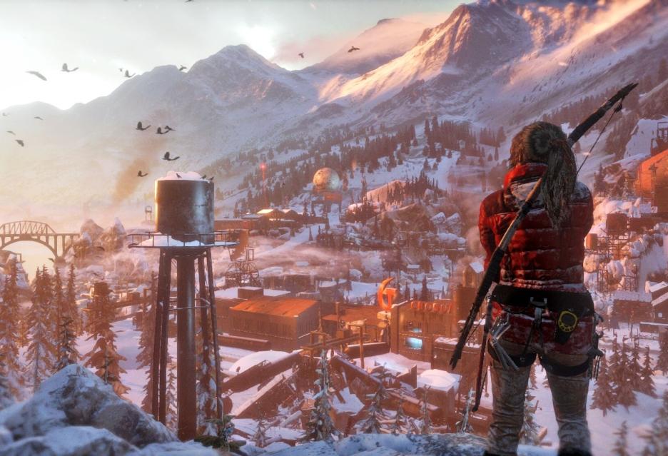 Rise of the Tomb Raider gra