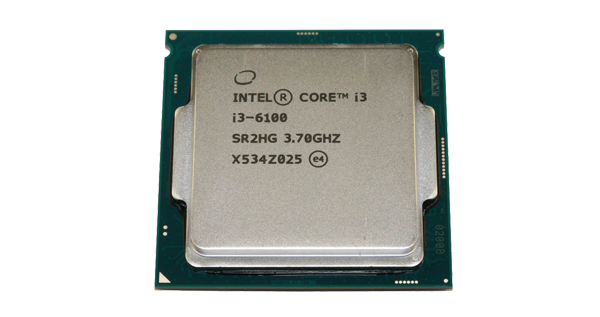 Intel Core i3 6100 procesor