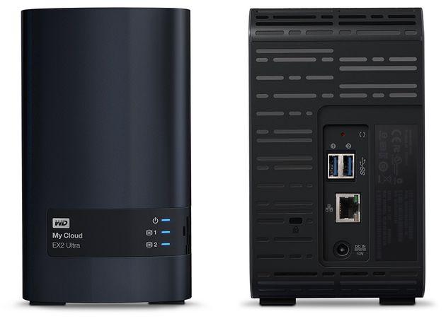 WD My Cloud EX2 Ultra serwer NAS