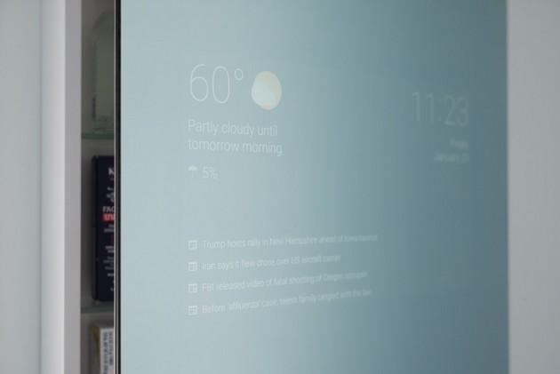 Google Braun lustro