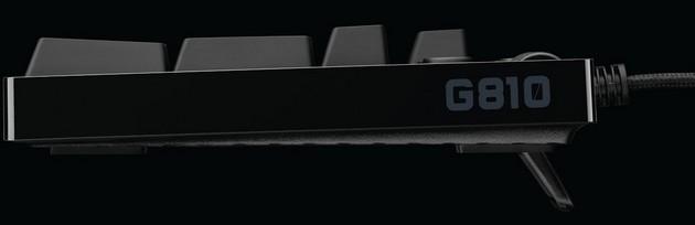 Logitech G810 bok