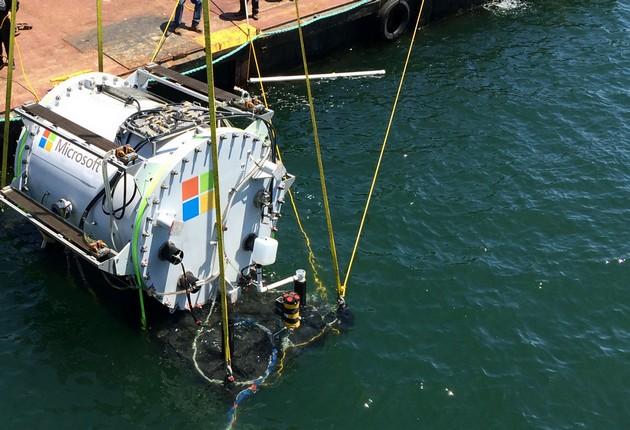 Microsoft Project Natick kapsuła