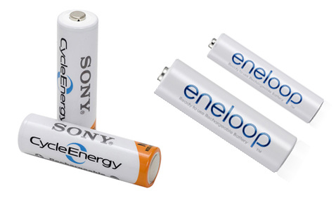 Sony Cycle Energy i Eneloop