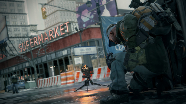 The Division supermarket