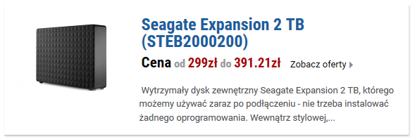Seagate Expansion 2 TB