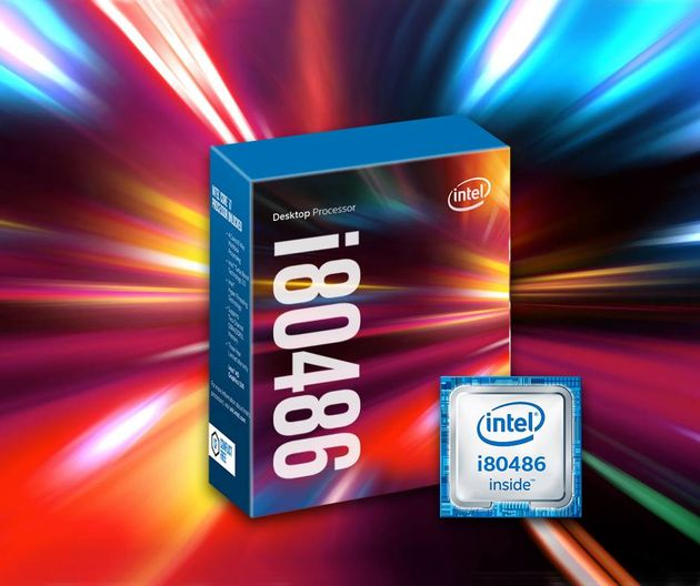 Intel i80486 procesor